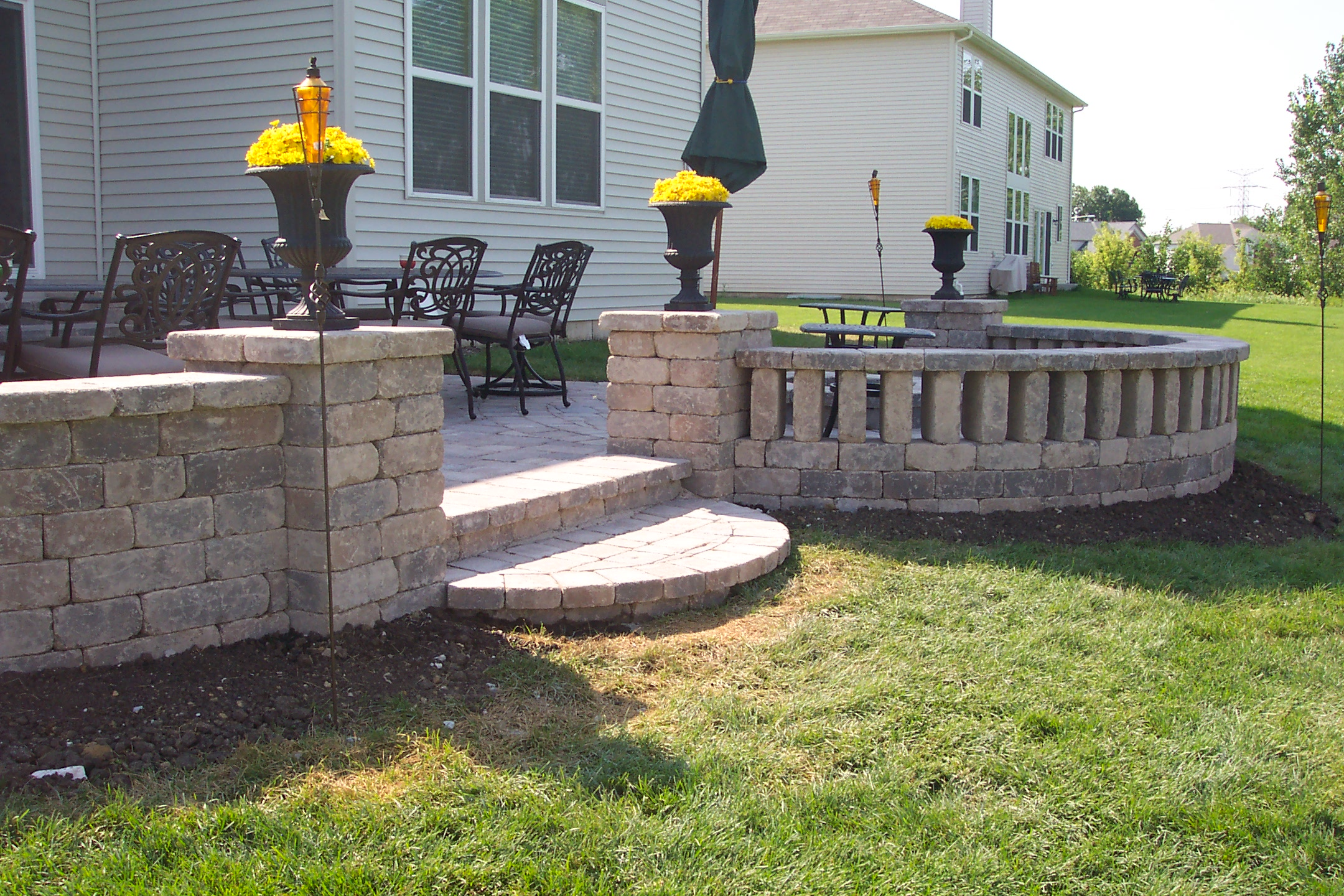 Landscapes Complete Inc - Design - build - install on Curved Patio Ideas id=98536