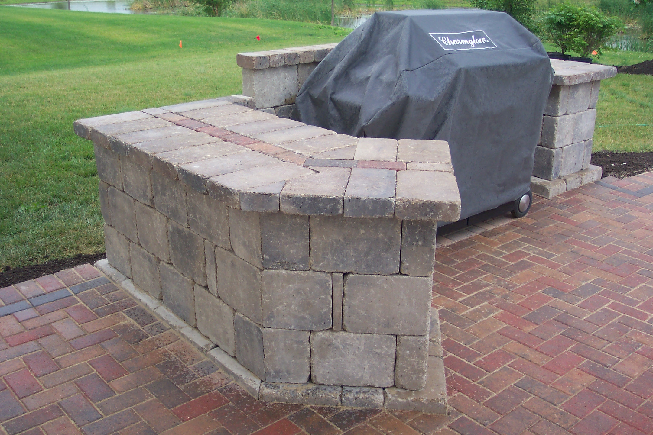 Similiar Brick Patio Grill Plans Keywords